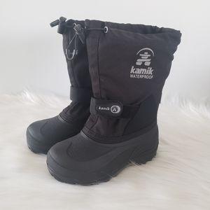 Kamik Kids waterproof boots, size 12
